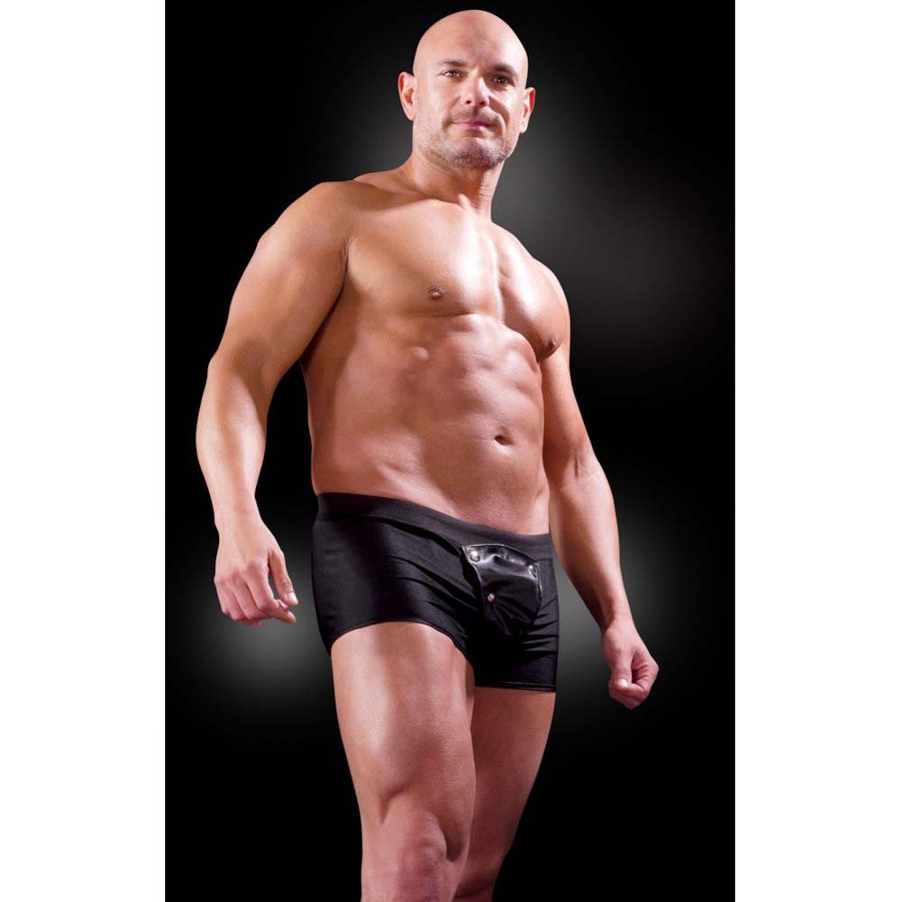 Fetish Fantasy Lingerie Beefy Brief for Men 2XL/3XL Black - View #3