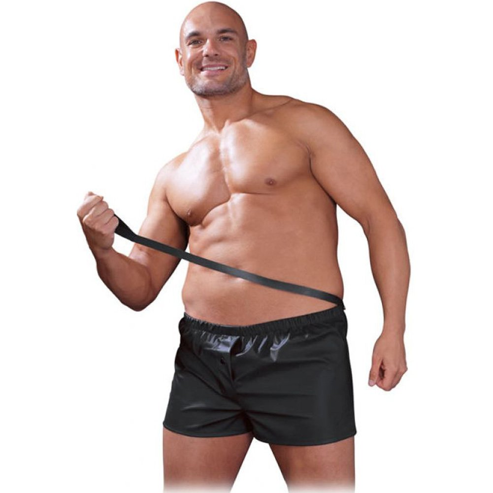 Fetish Fantasy Lingerie Male Obedience Boxer Large/Extra Large Black - View #2