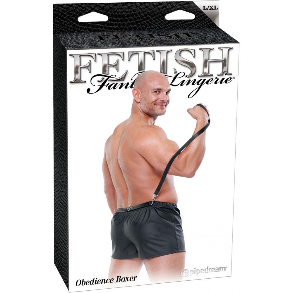 Fetish Fantasy Lingerie Male Obedience Boxer Large/Extra Large Black - View #4