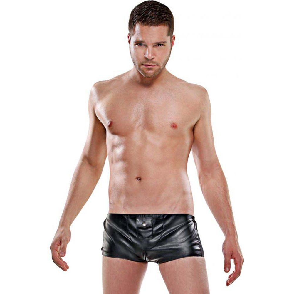 Fetish Fantasy Lingerie Hidden Pocket Brief for Men Small/Medium Black - View #1
