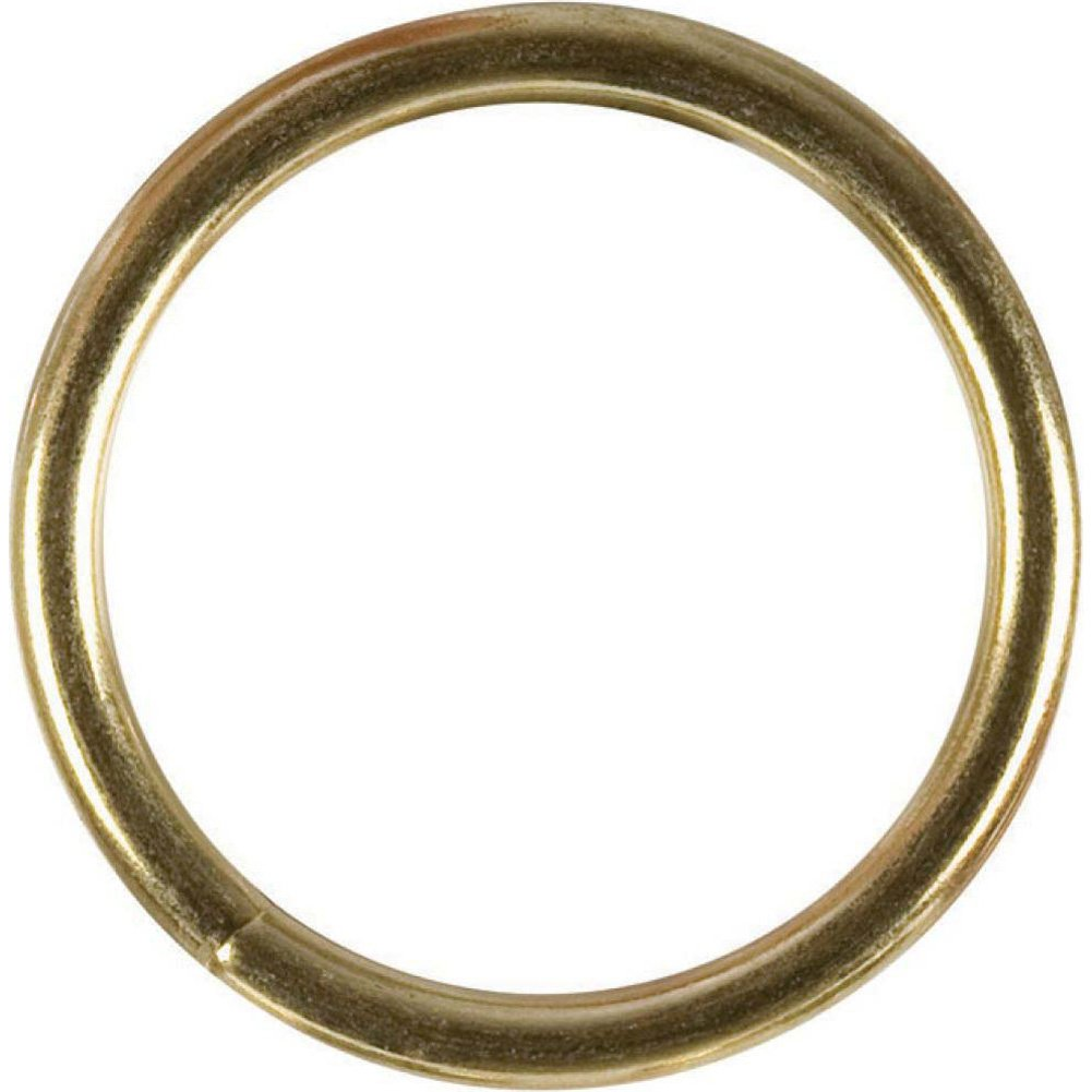 "CalExotics Large Gold Cock Ring 2.5"" - View #2"