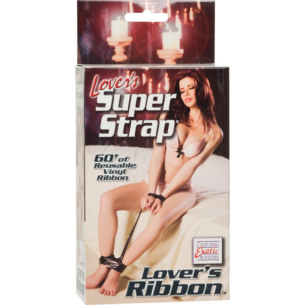 "CalExotics Lovers Super Strap Lovers Ribbon 60"" Black - View #1"