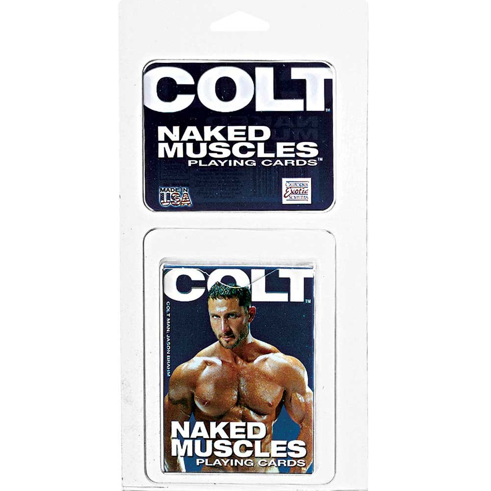 CalExotics Colt Naked Muscles Playing Cards Bulk - View #1