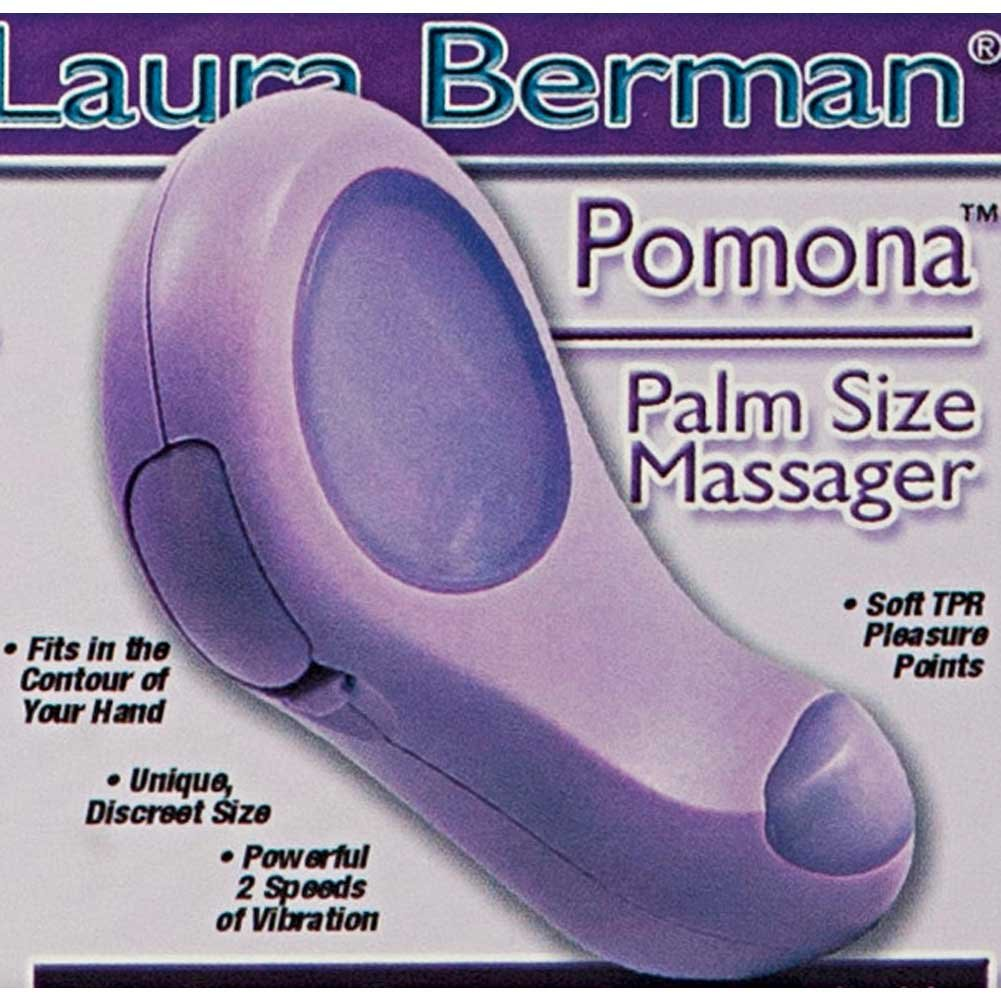 "CalExotics Intimate Basics Berman Center Pomona Massager 4"" Lavender - View #1"