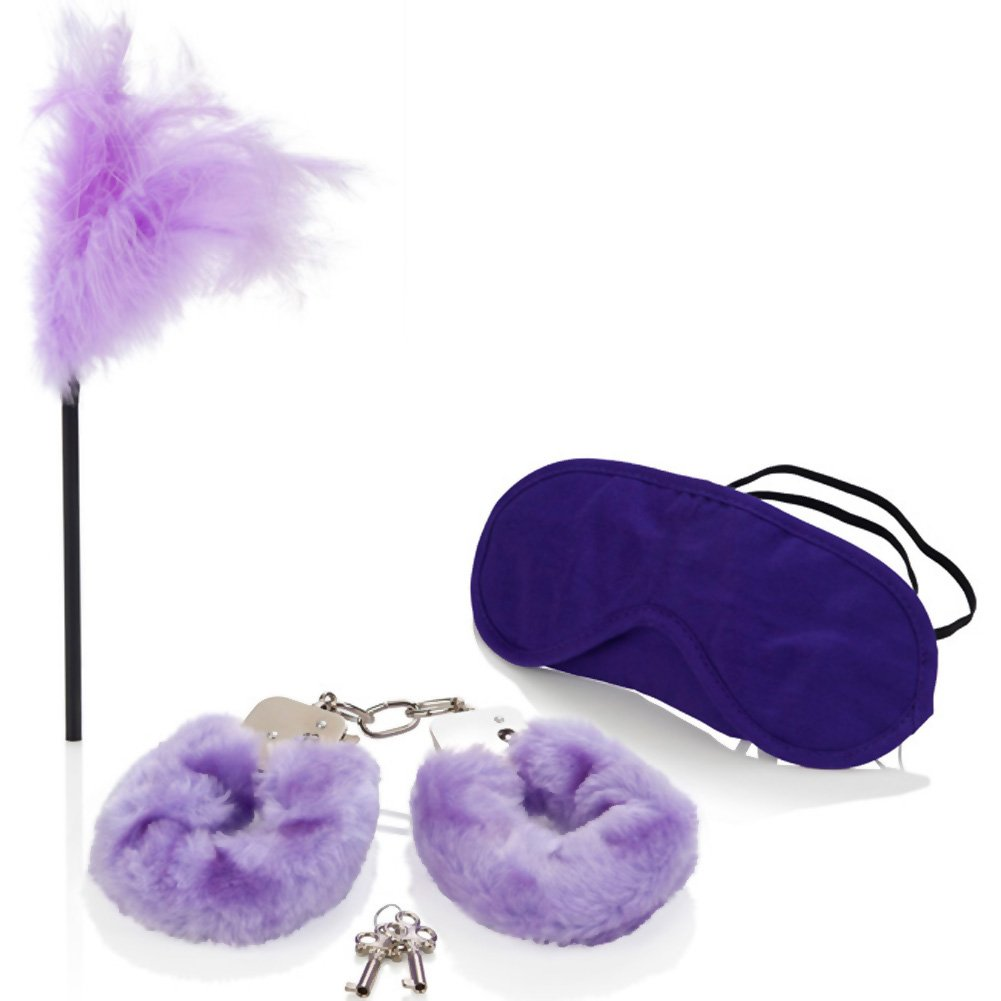 CalExotics Berman Center Intimate Basics Mistress Kit Purple - View #3