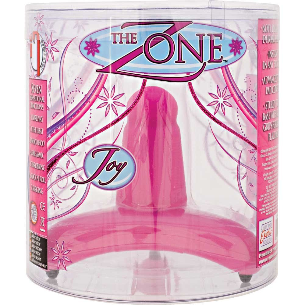 "Zone I7 Silicone Tripod Vibe by CalExotics 5.5"" Joy Pink - View #3"