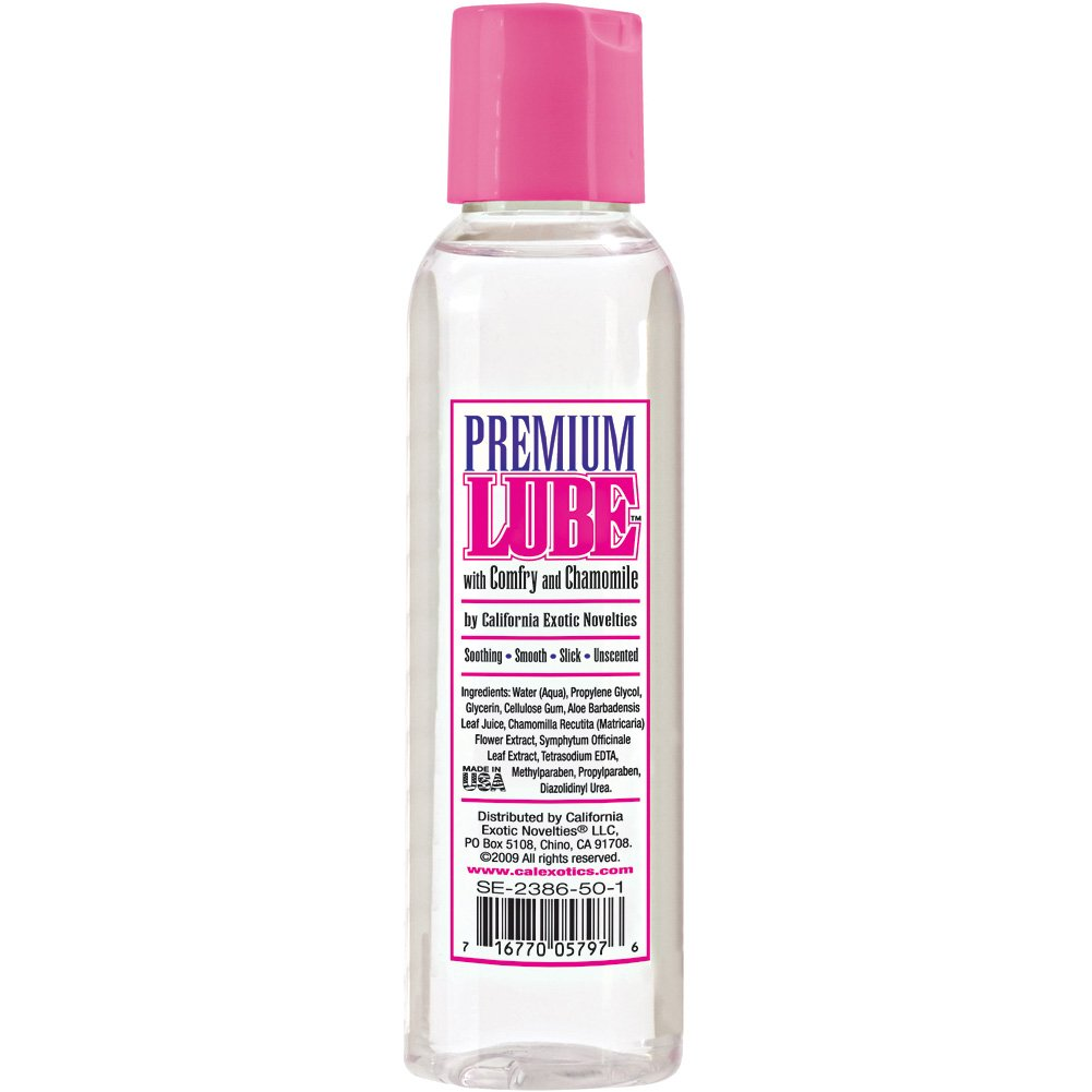Premium Water Based Lube with Comfry and Chamomile by CalExotics 4 Fl.Oz 113 mL - View #1