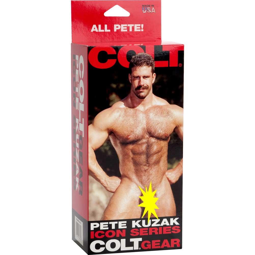 "Colt Gear Icon Series Pete Kuzak Cock by CalExotics 6.25"" Ivory Flesh - View #4"