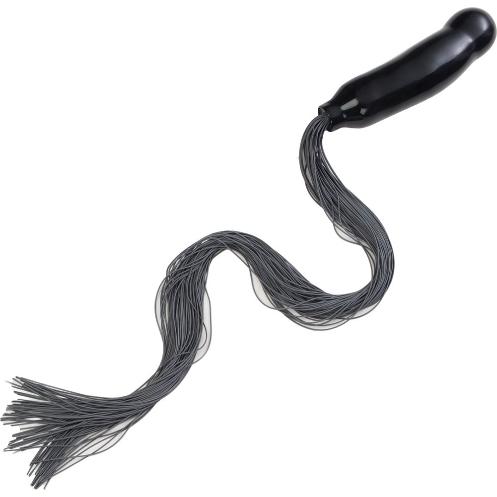 "COLT Stallion Tail by CalExotics 6.5"" Black - View #2"
