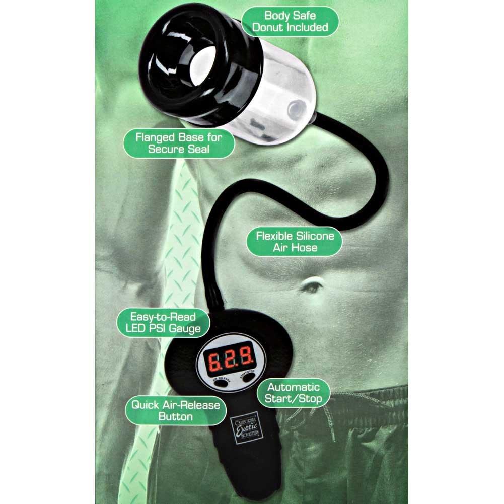 CalExotics Powered Automatic Head Pump Clear - View #1