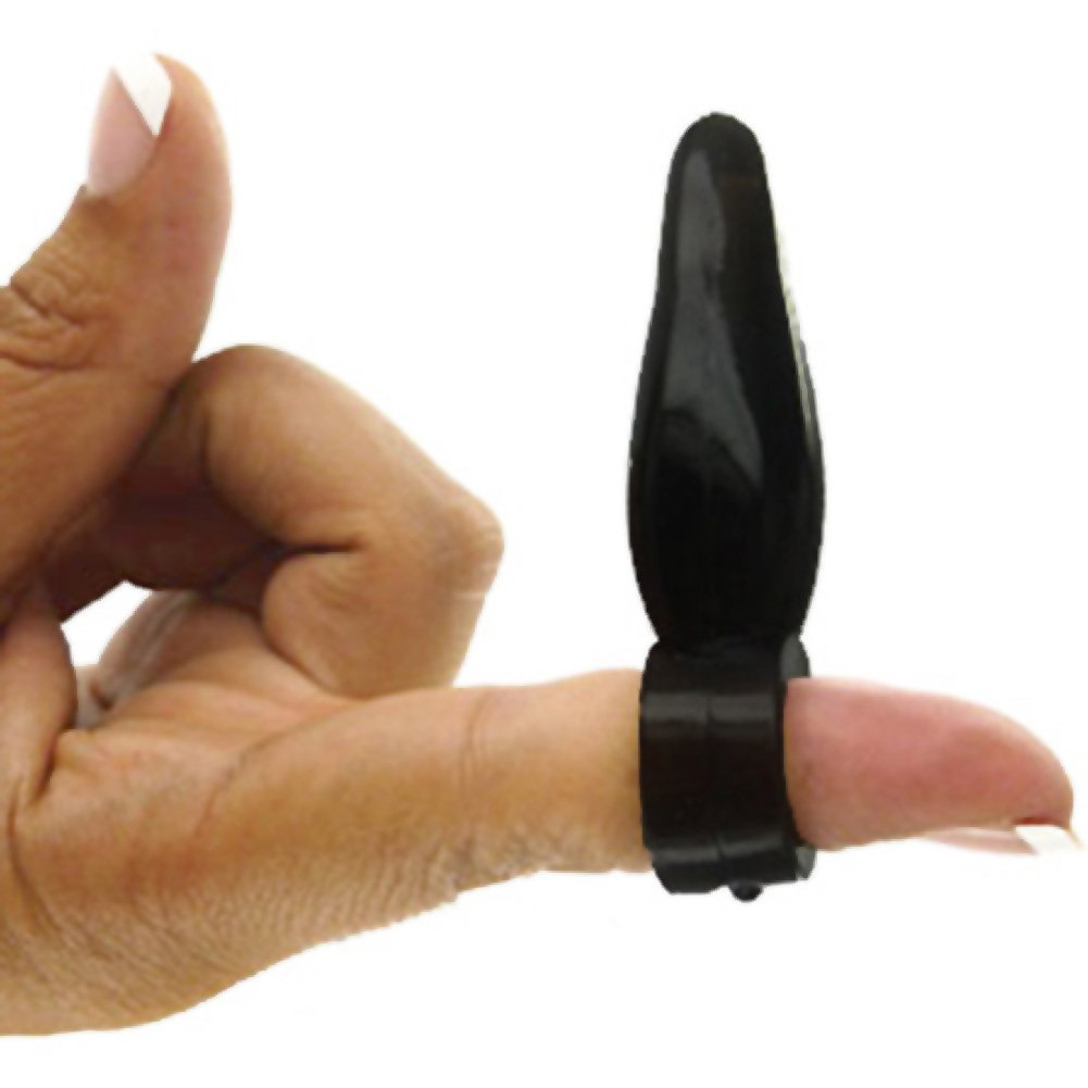Trinity Vibes Bum Tickler Finger Toy Black - View #1