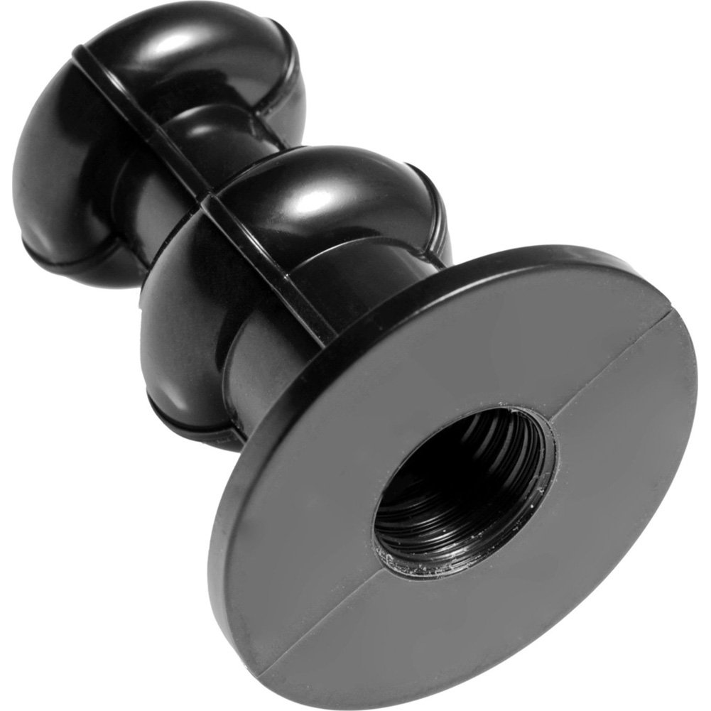 "Sex Machine Dildo Adapter Attachment 2"" Black - View #3"