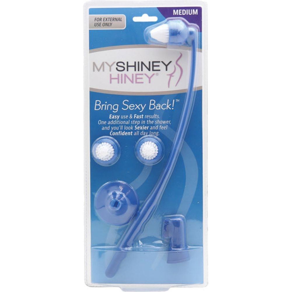 My Shiney Hiney Medium Bristle Cleaning Kit Blue - View #1