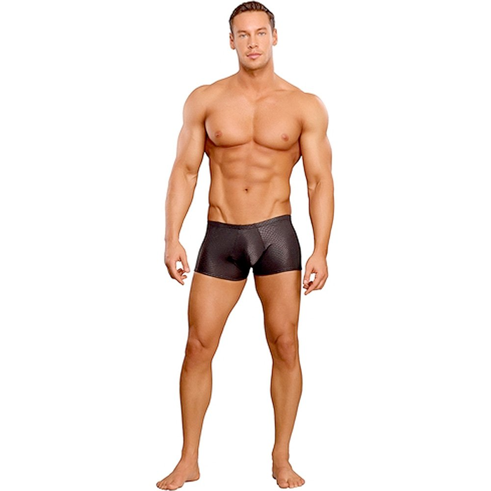 Male Power Cobra Mini Short XL Black - View #3