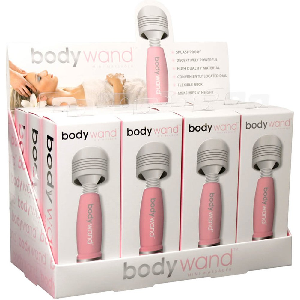 Bodywand Mini Massager 12 Count Display Pink - View #2