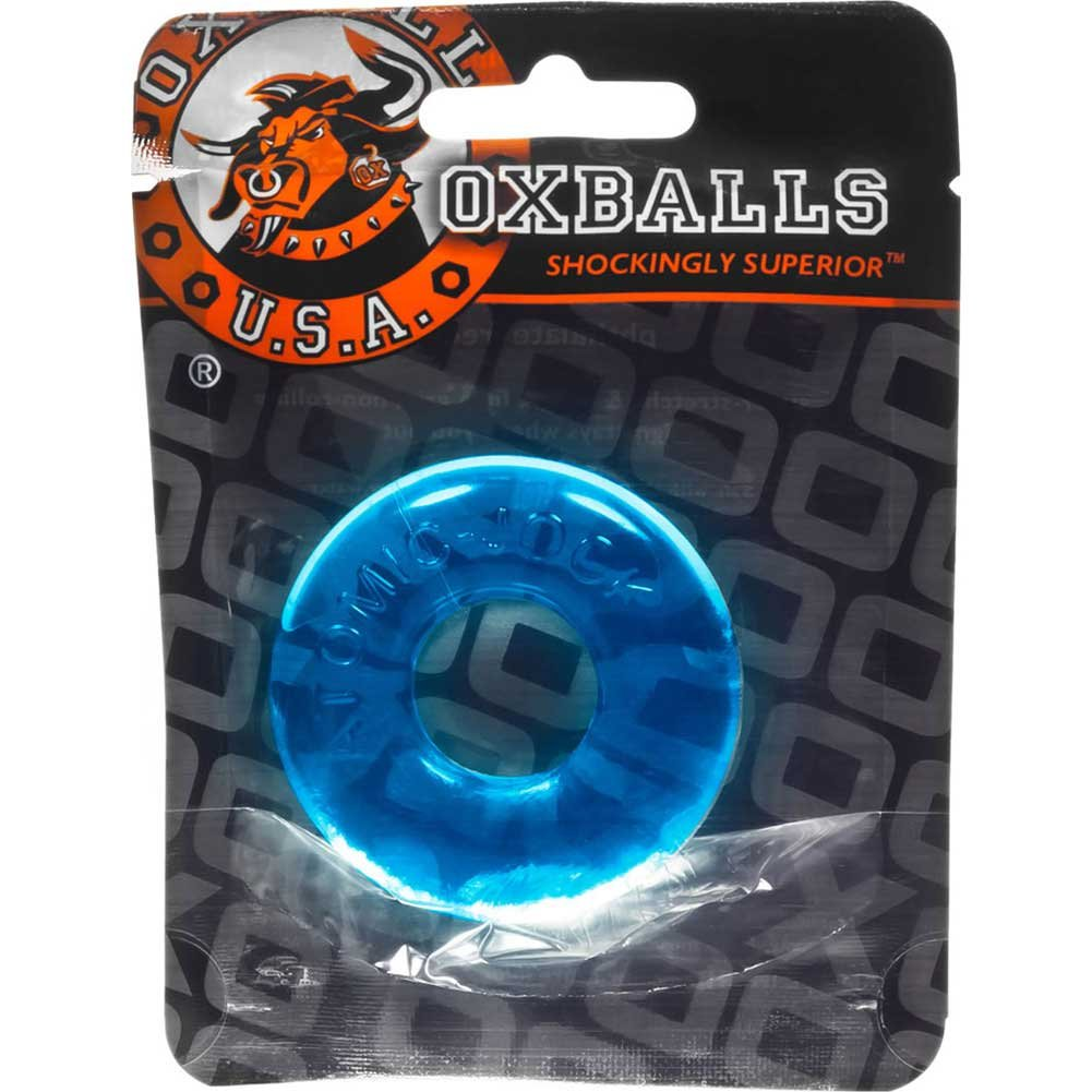 OxBalls Donut 2 Atomic Jock Large Cockring Ice Blue - View #1