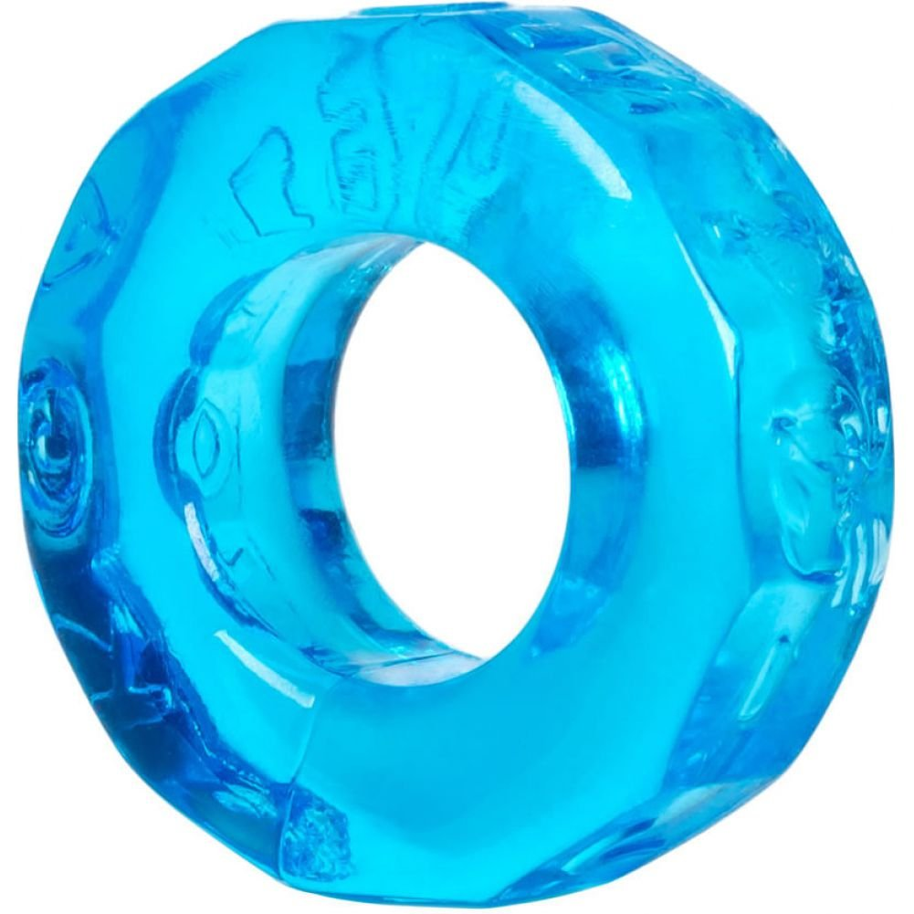 OxBalls Atomic Jock Sprocket Cockring Ice Blue - View #2