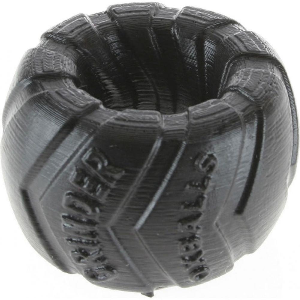 """OxBalls Grinder 1 Silicone Ballstretcher 1.5"""" Black - View #1"""