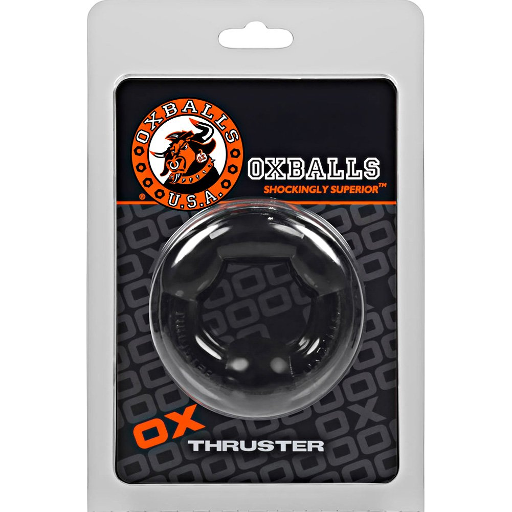 OxBalls Thruster Cockring Black - View #1