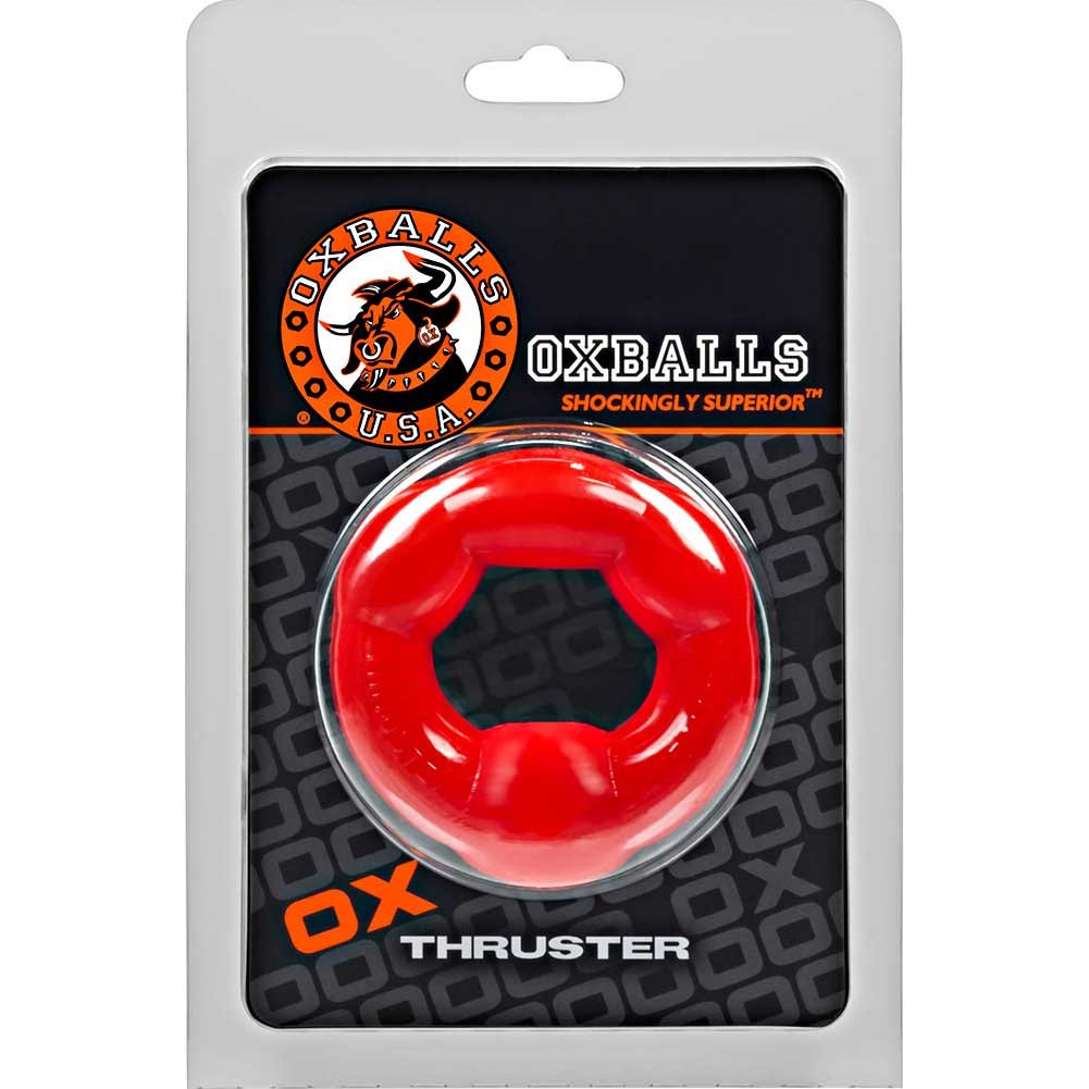 OxBalls Thruster Cockring Red - View #1