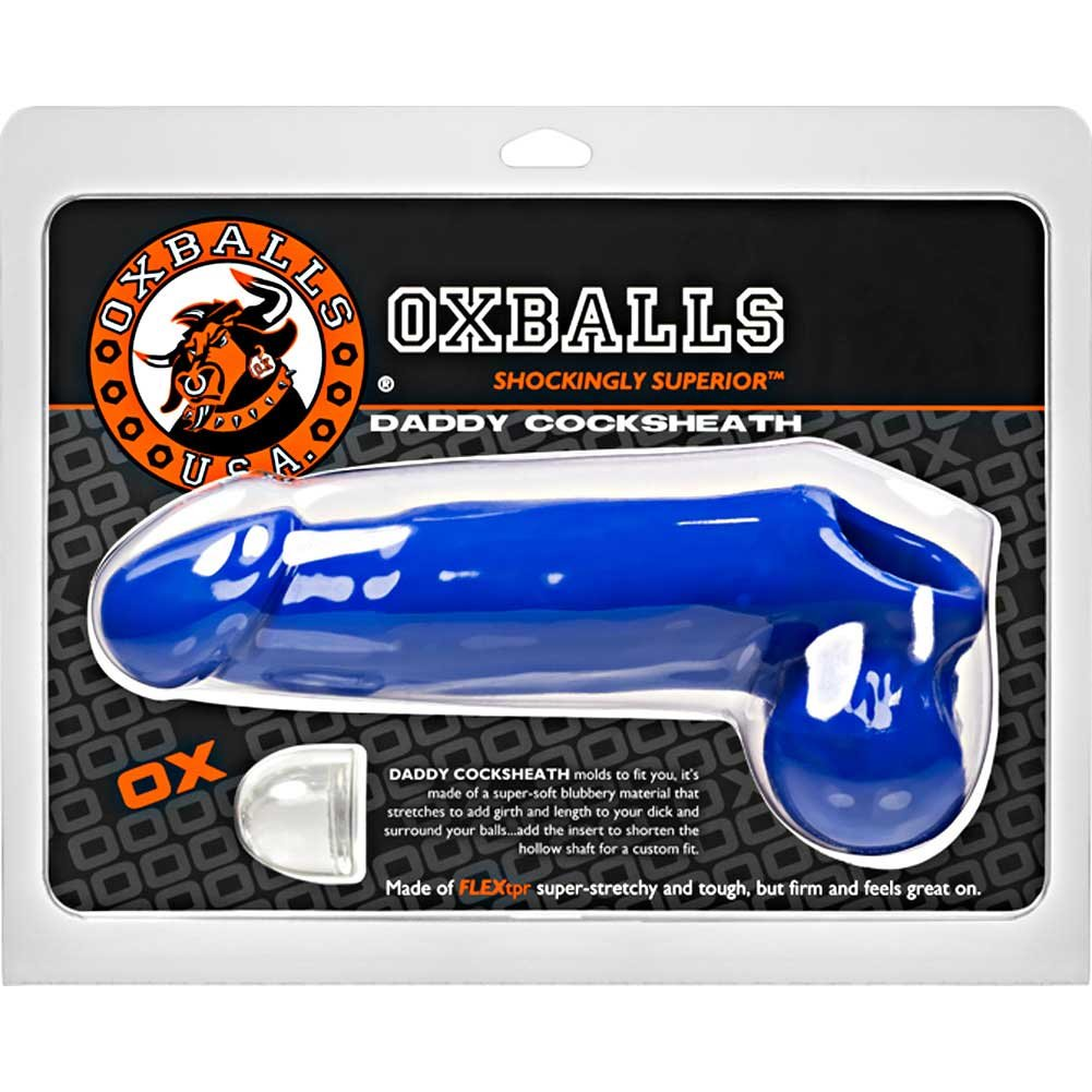 "OxBalls Daddy Cocksheath 10"" Police Blue - View #1"