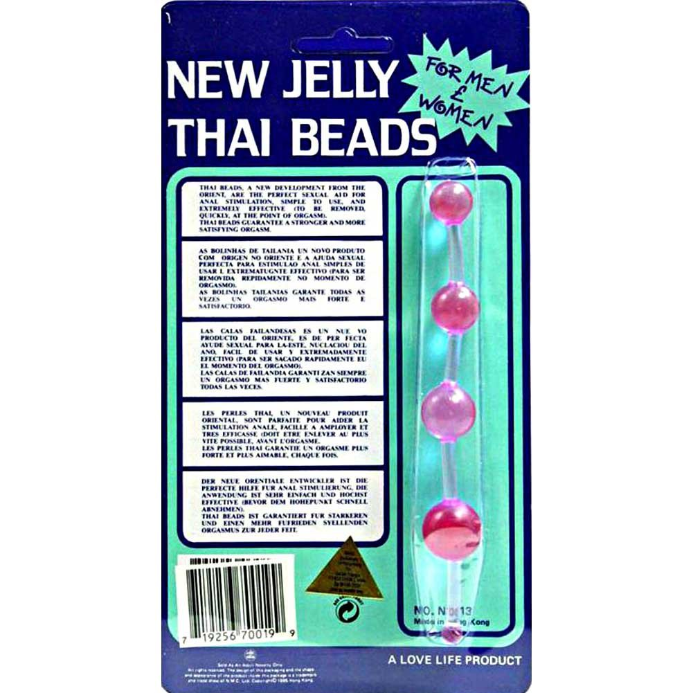 Golden Triangle New Jelly Thai Beads Lavender - View #1
