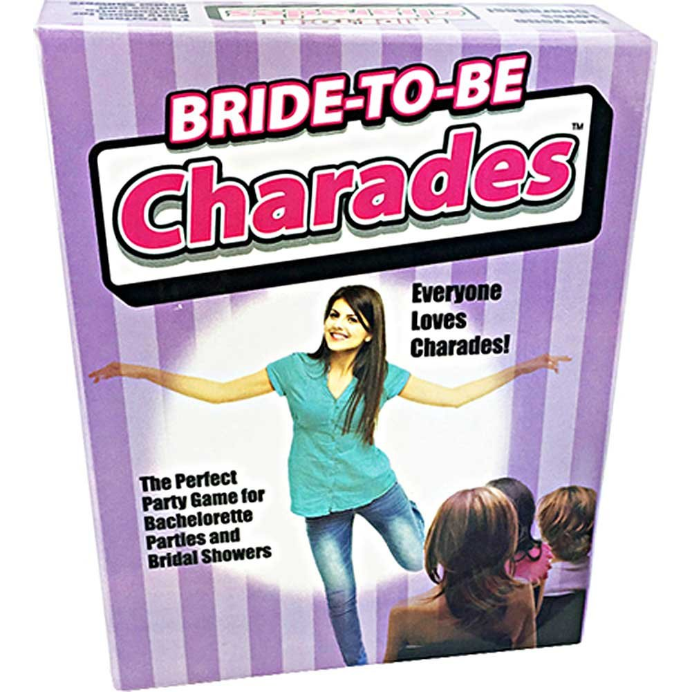 Little Genie Bride to Be Charades Game - View #1