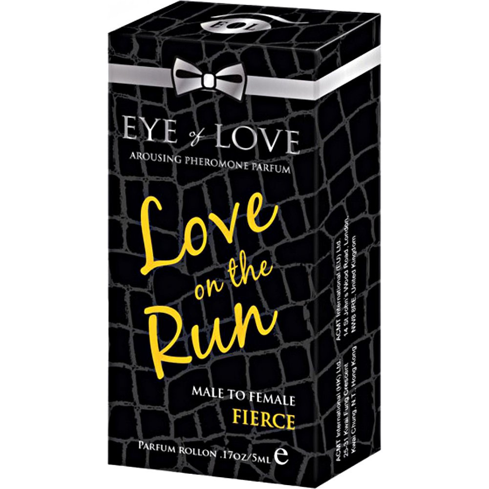 Eye of Love Love On the Run Fierce Arousing Pheromone Parfume for Men 5 mL - View #1