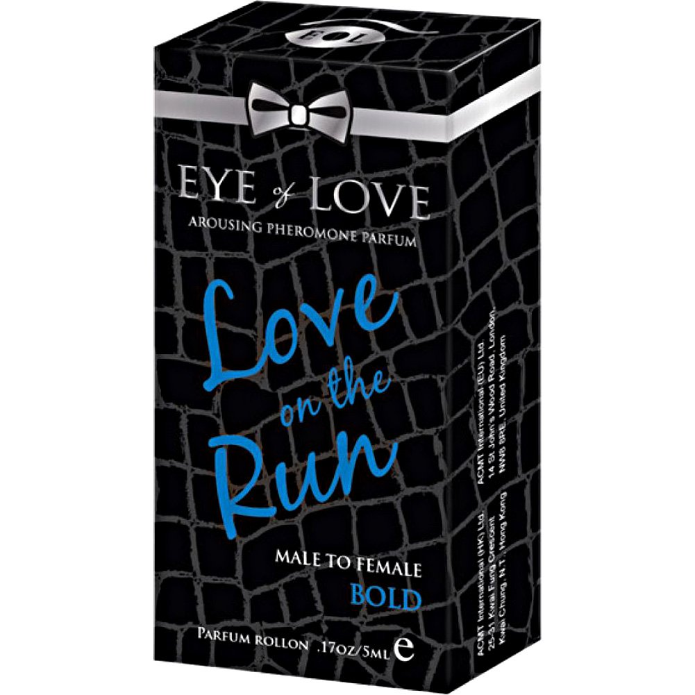 Eye of Love Love On the Run Bold Arousing Pheromone Parfume for Men 5 mL - View #1