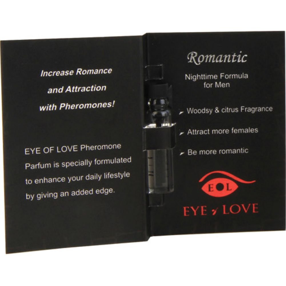 Eye of Love Romantic Male to Female Arousing Pheromone Parfume 0.03 Fl.Oz 1 mL - View #1