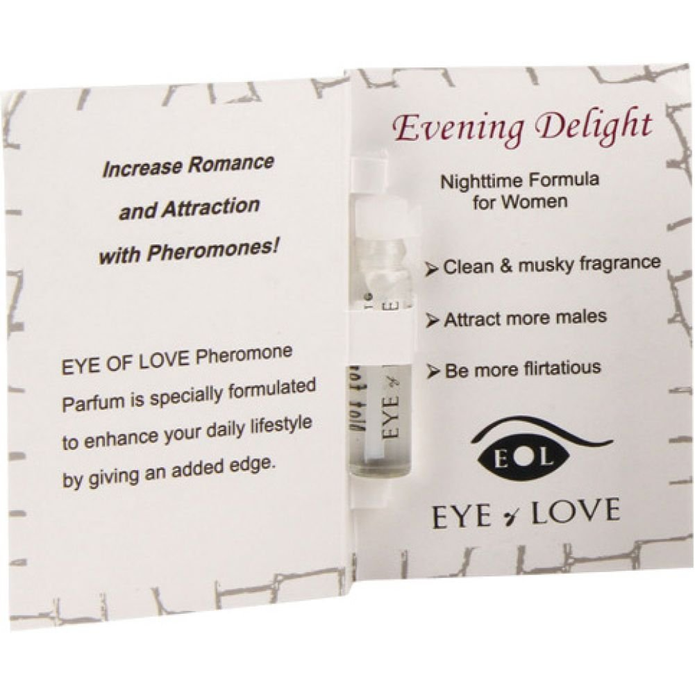 Eye of Love Evening Delight Female to Male Arousing Pheromone Parfume 0.03 Fl.Oz 1 mL - View #1