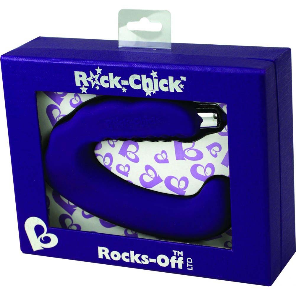 Rocks-Off Chick Silicone Intimate Vibrator for Women Purple - View #1