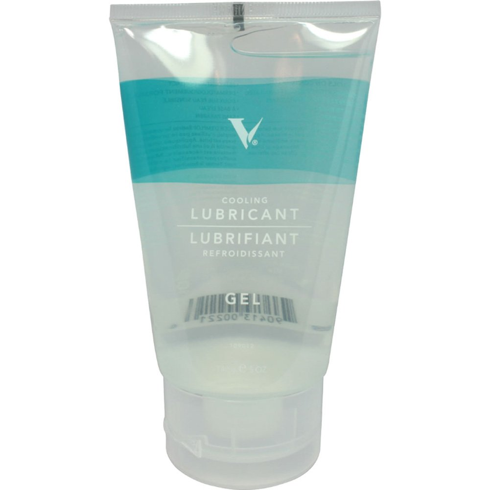 V Water Based Cooling Gel Personal Lubricant 5 Fl.Oz 148 mL Tube - View #1