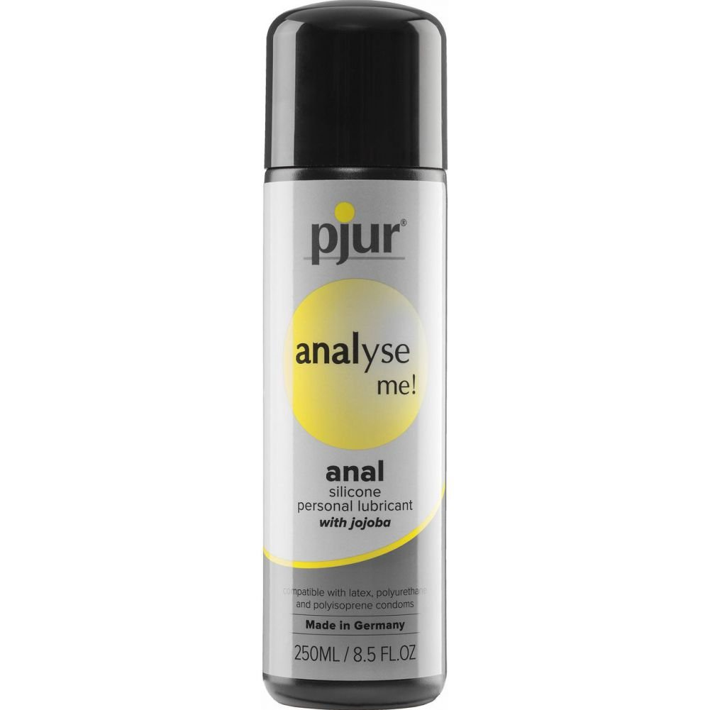 Analyse Me Relaxing Anal Glide Silicone Lubricant 8.5 Fl.Oz 250 mL - View #1