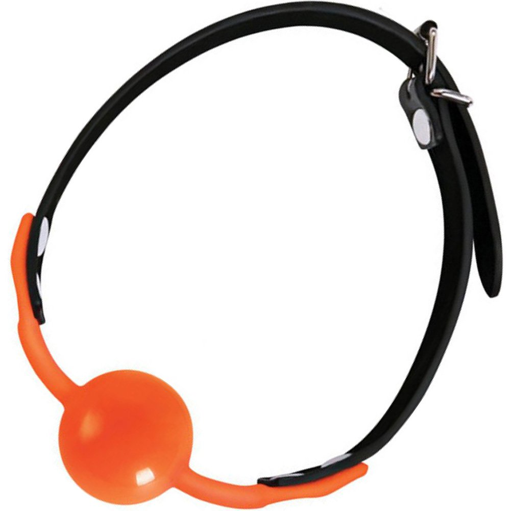 Icon Brands Orange Is the New Black Siligag Silicone Ball Gag - View #2