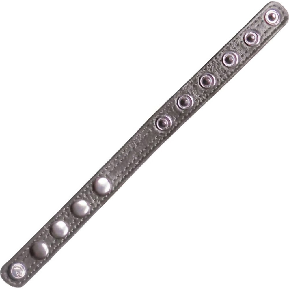 Icon Brands Falcon Code Adjustable Band Cockring Bondage Grey - View #2
