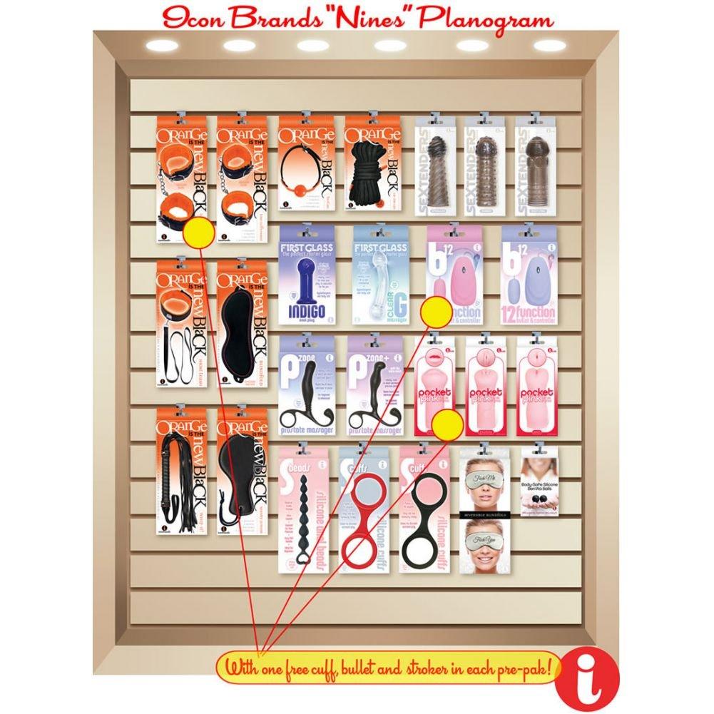 Icon Brands Master Pack Planogram - View #1