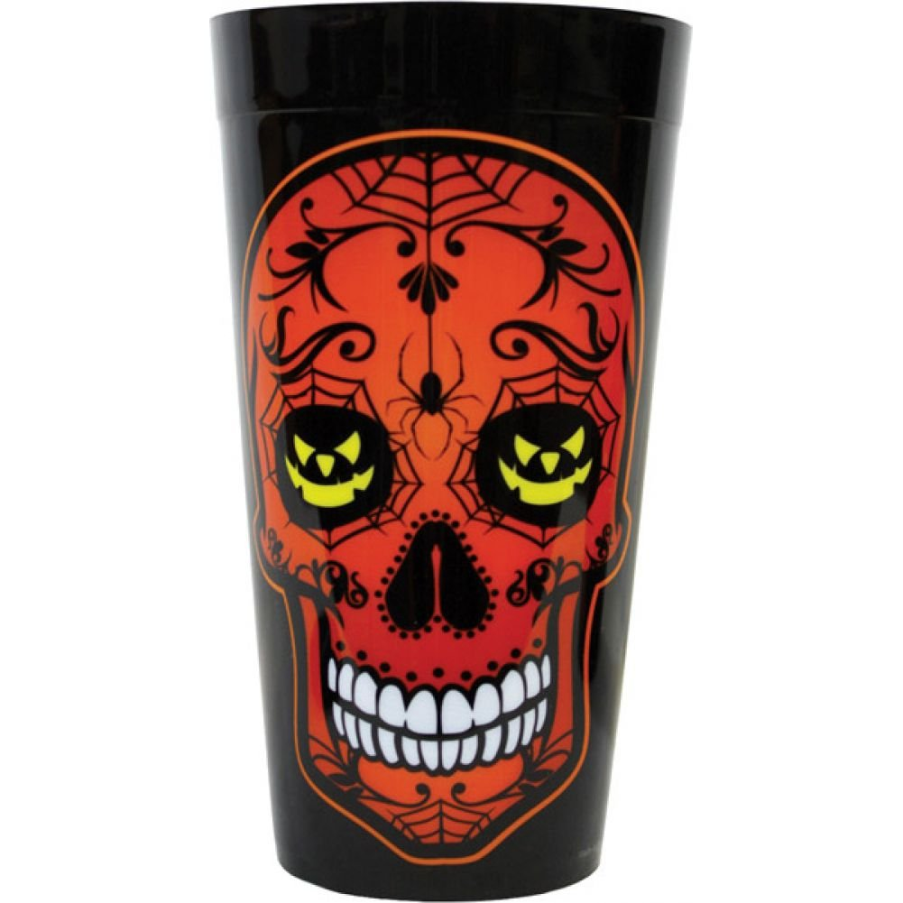 Kalan Day of the Dead Party Cup Black - View #1