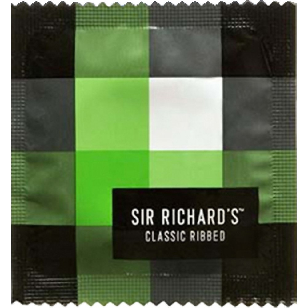 Sir Richards Classic Ribbed Condoms Display 144 Count - View #1