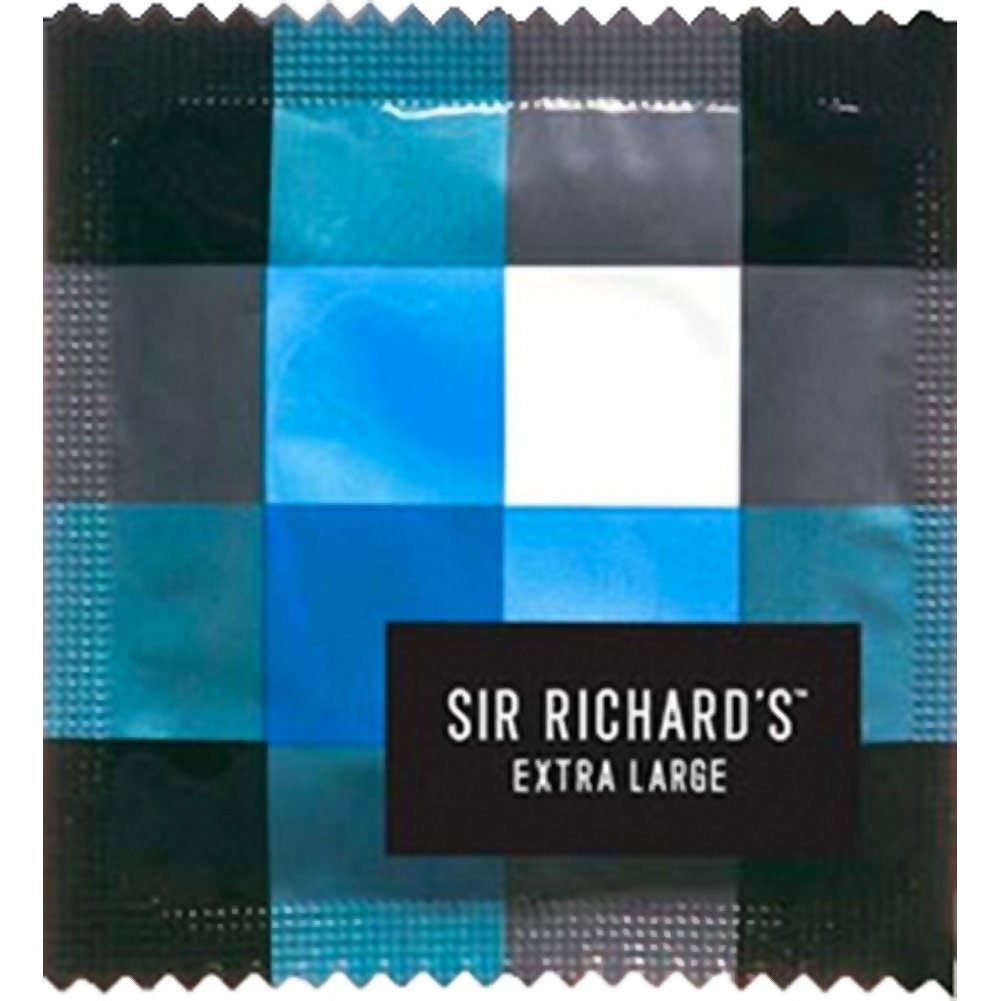 Sir Richards Extra Large Condoms Display 144 Count - View #1