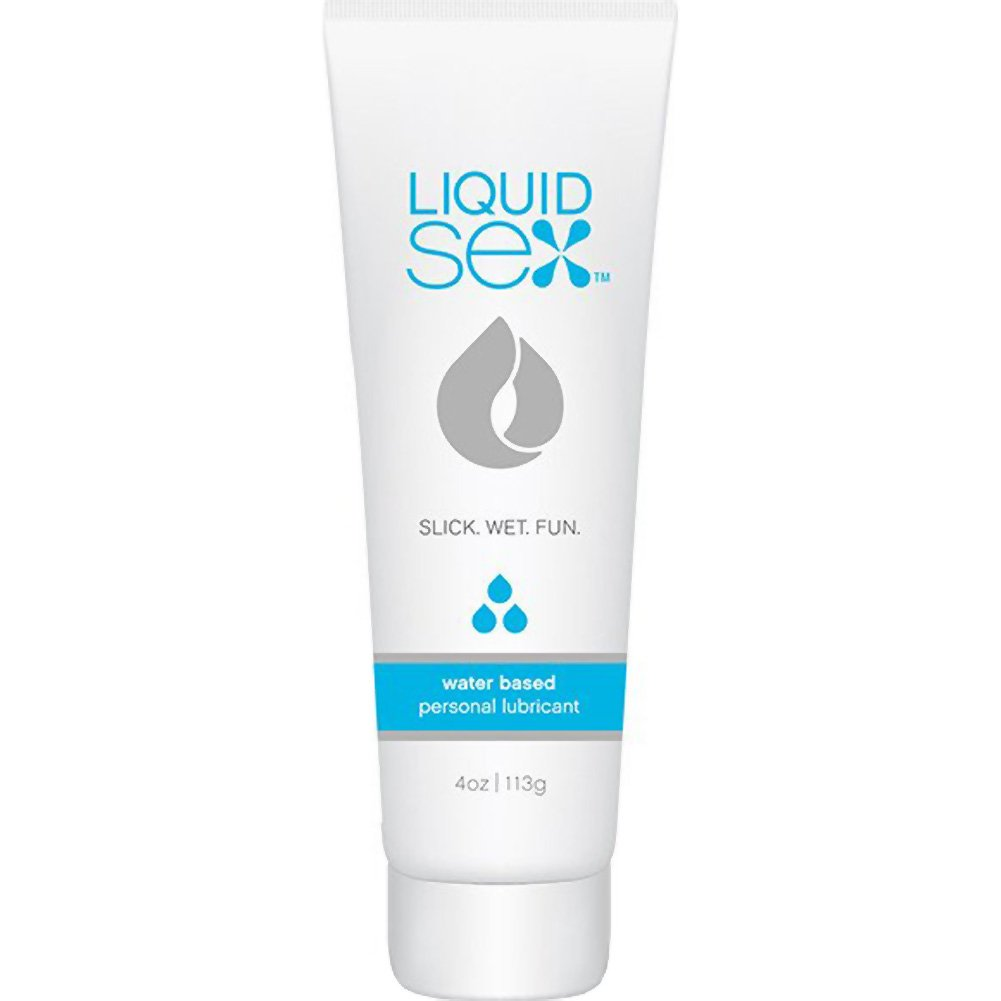 Topco Liquid Sex Water Based Personal Lubricant 4 Oz 113 G - View #1