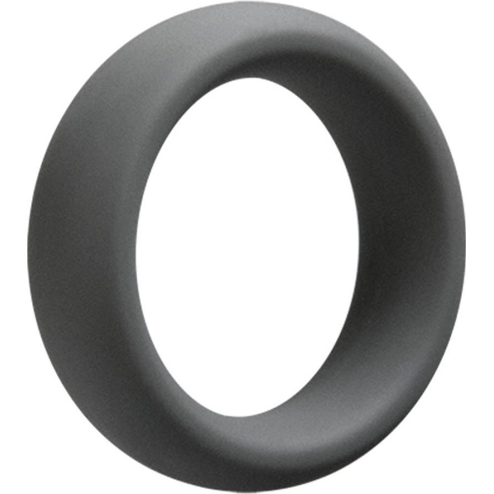 "Doc Johnson OptiMale 55 Mm Cock Ring 2.25"" Slate - View #2"
