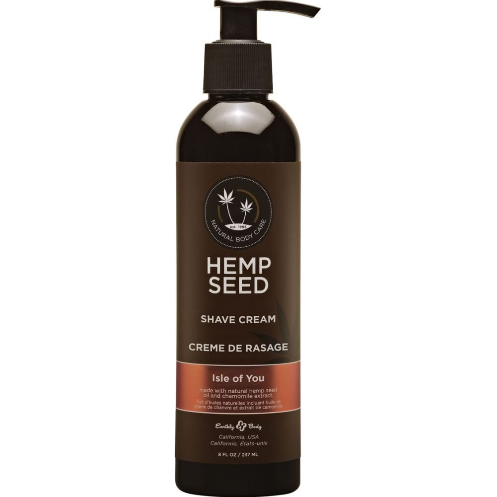 Earthly Body Hemp Seed Shave Cream 8 Fl. Oz 237 mL Isle of You - View #1