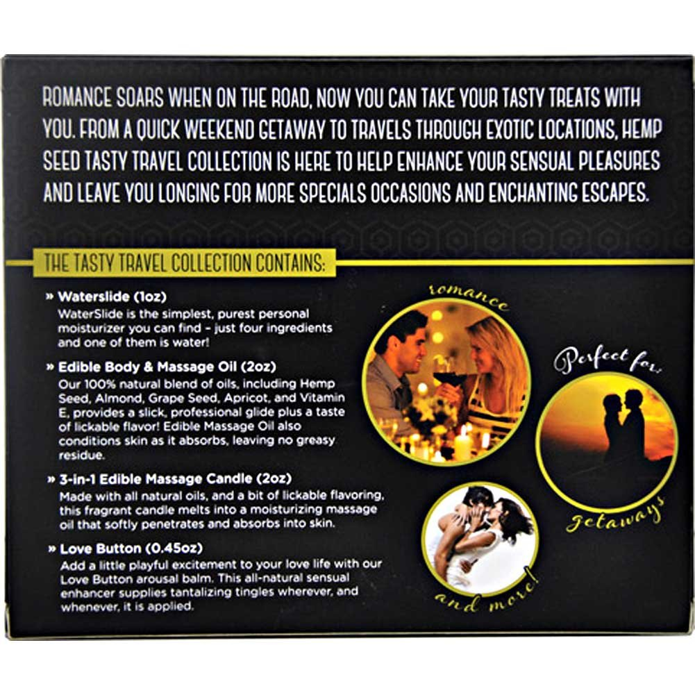 Earthly Body Hemp Seed Tasty Travel Collection Strawberry - View #3