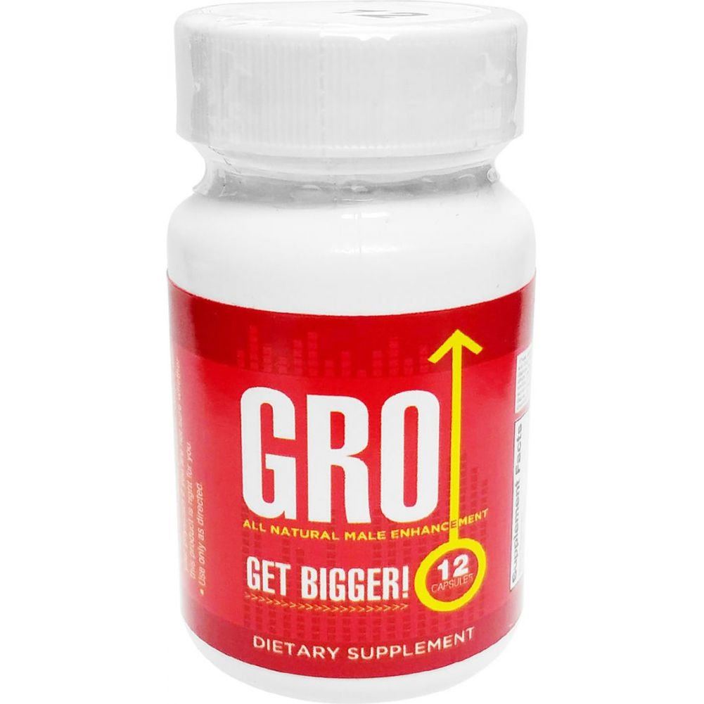 Gro All Natural Male Enhancement Pill 12 Each Per Bottle - View #1