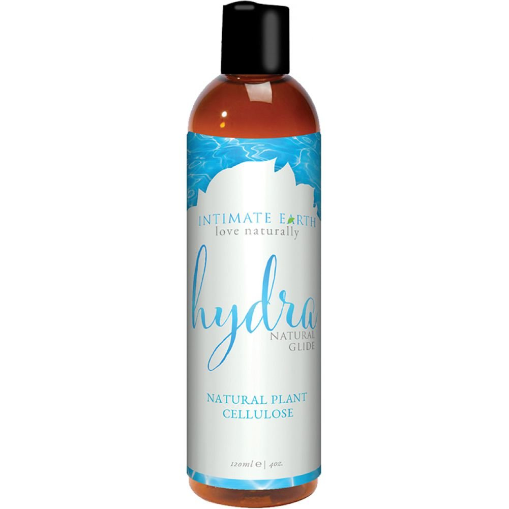 Intimate Earth Hydra Natural Glide Water Based Lubricant 4 Fl.Oz 120 mL - View #1