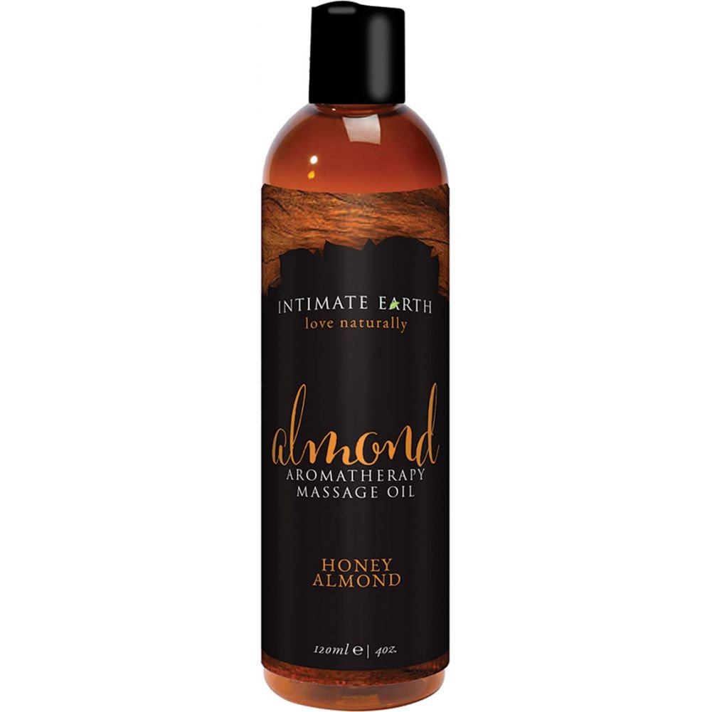 Almond Aromatherapy Massage Oil Honey Almond 4 Oz 120 Ml - View #1