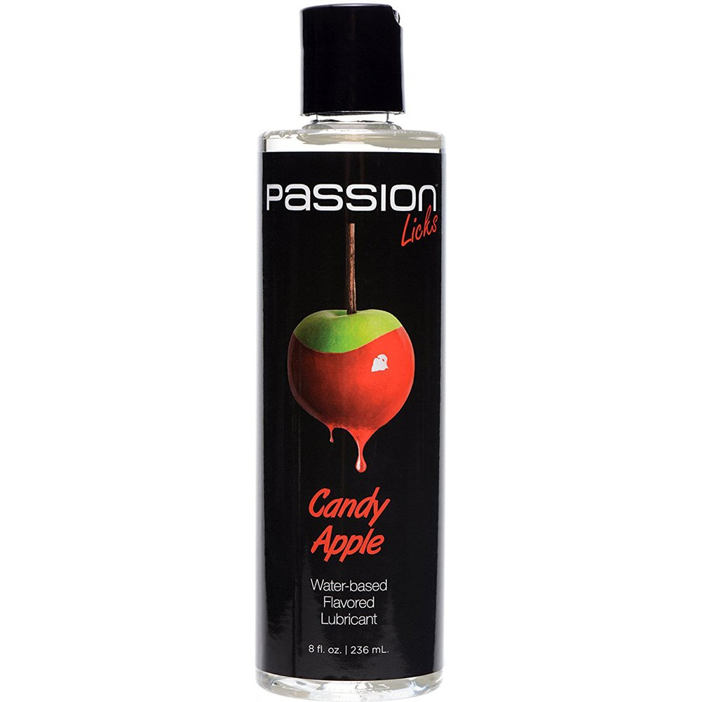 Passion Licks Water Based Flavored Lubricant 8 Fl.Oz 236 mL Candy Apple - View #2
