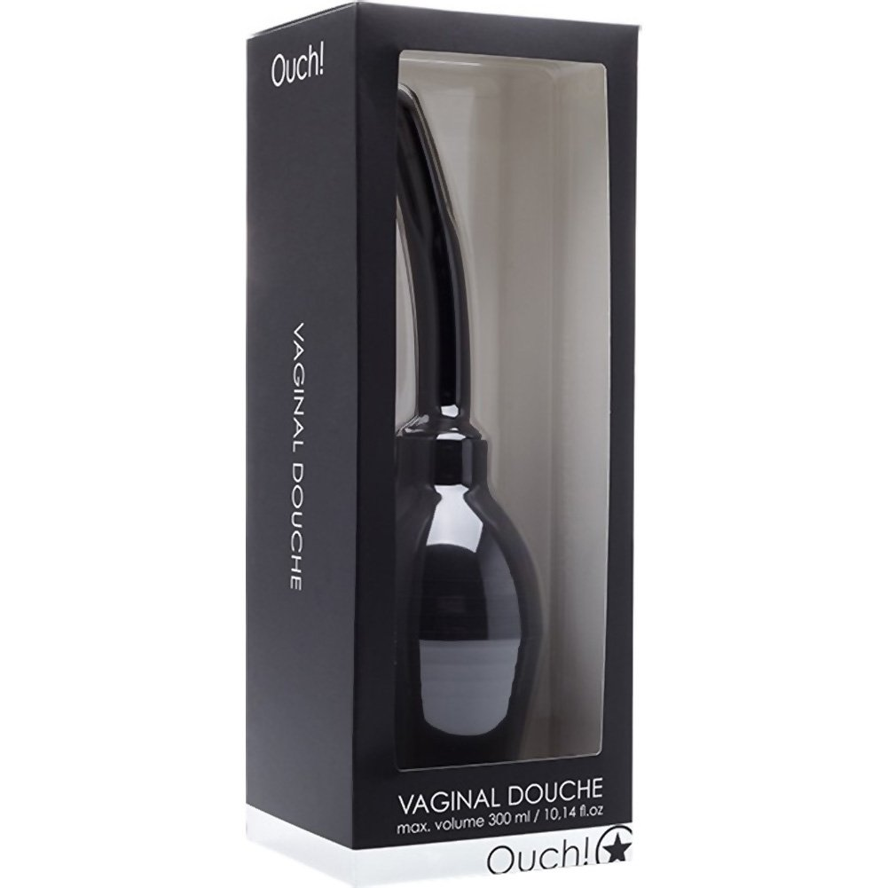 Ouch By Shots Toys Vaginal Douche 10.14 Fl.Oz 300 mL Black - View #1