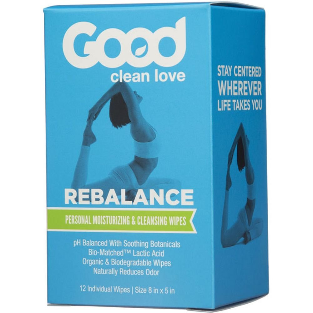 Good Clean Love Rebalance Personal Cleansing Wipes 12 Count - View #1
